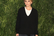 Mary-Kate Olsen V-neck Sweater
