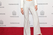 AnnaLynne McCord Wide Leg Pants