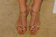 Joanna Garcia-Swisher Strappy Sandals