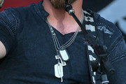 Brantley Gilbert Layered Sterling Necklace