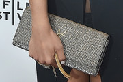 Cassie Metallic Clutch
