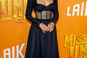 Zoe Saldana Corset Dress