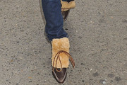 Stacey Dash Sheepskin Boots