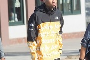 Chris Brown Raincoat