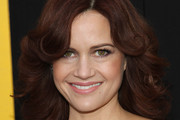 Carla Gugino Feathered Flip