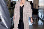 Catherine Zeta Jones Wool Coat