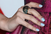 Christian Serratos Pastel Nail Polish