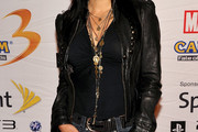 Kelly Hu Layered Gold Necklace