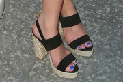 Ashley Benson Platform Sandals