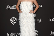 Isabelle Fuhrman Strapless Dress