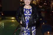 Laura Michelle Kelly Leather Jacket