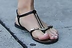 Julianne Hough Thong Sandals
