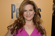 Ana Gasteyer Long Wavy Cut