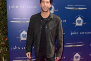 David Schwimmer Suede Jacket