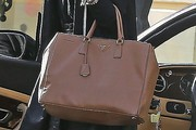 Delta Goodrem Leather Tote