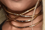 Nicki Minaj Gold Choker Necklace