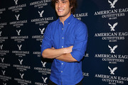 Diego Boneta Button Down Shirt