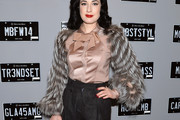 Dita Von Teese Button Down Shirt