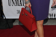 Chris McKendry Leather Tote