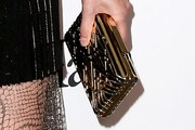 Lake Bell Metallic Clutch