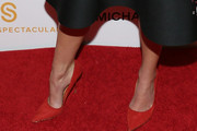 Jordana Brewster Evening Pumps