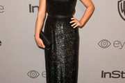 Busy Philipps Strapless Dress