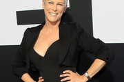 Jamie Lee Curtis Cropped Jacket