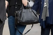 Hailee Steinfeld Leather Tote