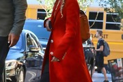 Mary-Kate Olsen Wool Coat