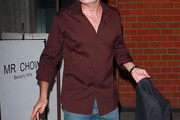 Charlie Sheen Button Down Shirt