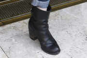 Holly Marie Combs Motorcycle Boots