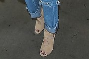 Kendall Jenner Cutout Boots