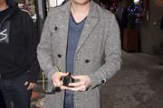 Michael Buble Wool Coat