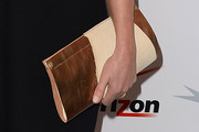 Emma Thompson Metallic Clutch