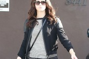 Emmy Rossum Zip-up Jacket
