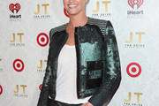 Erin Andrews Motorcycle Jacket