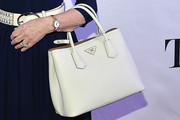 Helen Mirren Leather Tote