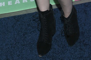 Coco Rocha Lace Up Boots