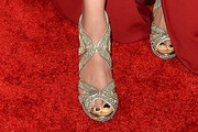 Meta Golding Evening Sandals