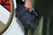 Chanel Iman Feathered Clutch