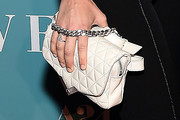 Barbara Palvin Quilted Purse