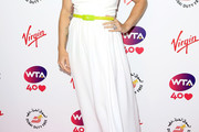 Bethanie Mattek-Sands Strapless Dress
