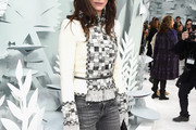 Anna Mouglalis Embellished Top