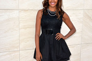 Claudia Jordan Little Black Dress