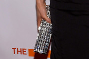 Lucy Liu Tube Clutch