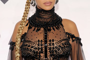 Beyonce Knowles Long Braided Hairstyle