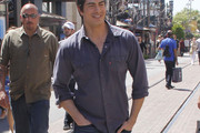 Brandon Routh Button Down Shirt