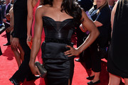 Gabrielle Douglas Little Black Dress