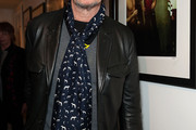 Gary Oldman Patterned Scarf