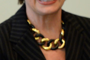 Nancy Pelosi Gold Statement Necklace